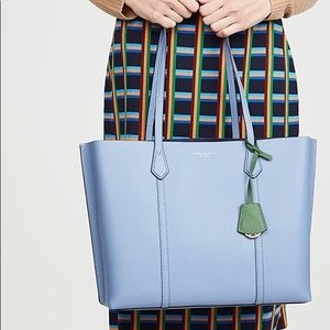 Tory Burch Large Perry Tote - Blue